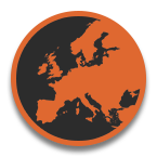 European map icon