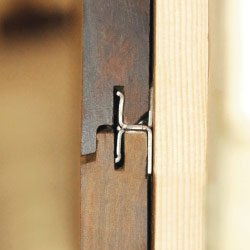 Installing hidden cladding fasteners
