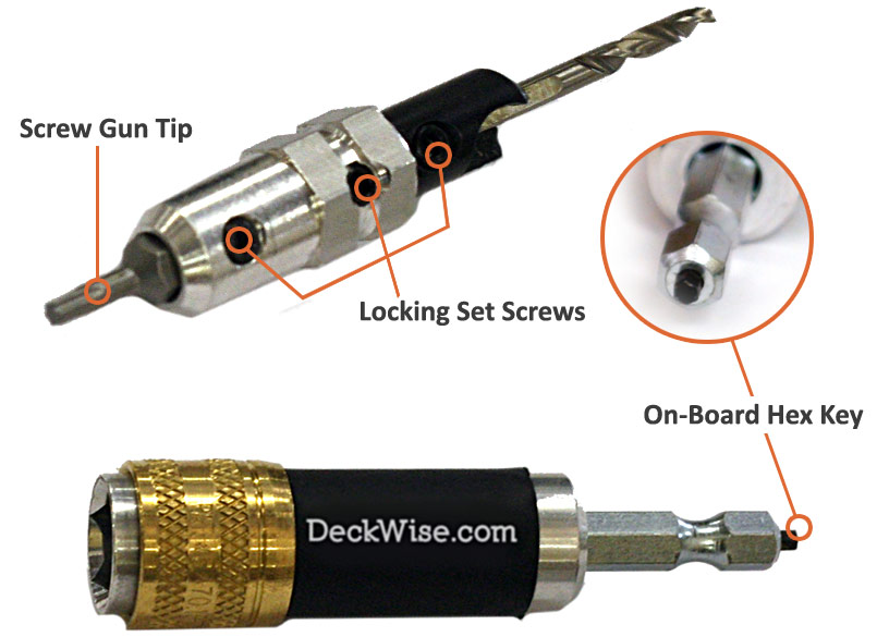 Kit DeckWise® Drill & Drive™