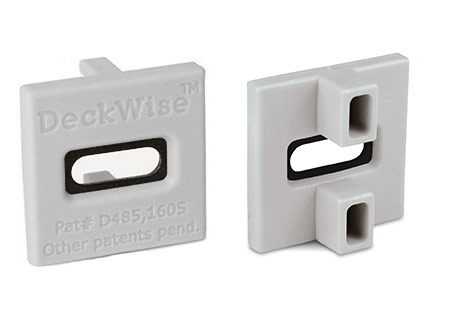 DeckWise® ExtremeKD® hardhout clip