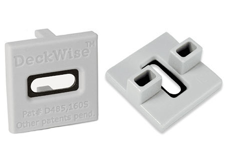 DeckWise® ExtremeKD® hardhout clip composietgrijs