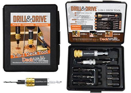 deckwise drill and drive decking tool