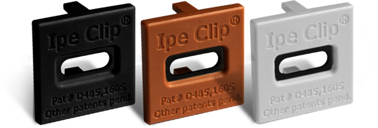 DeckWise® hardhout clips
