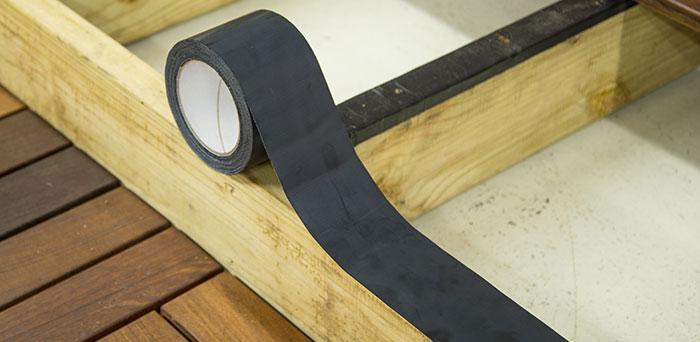 Wisewrap 174 Joisttape Waterproof Tape For Terrace Joists