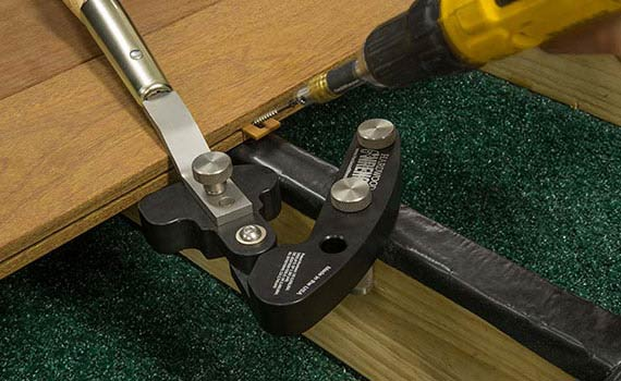 Installing fixing with Hardwood Wrench